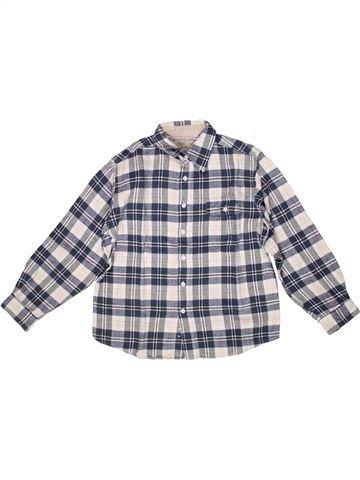 Chemise manches longues garçon CFK gris 10 ans hiver #1268095_1
