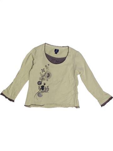 T-shirt manches longues fille TERRE DE MARINS beige 2 ans hiver #1268104_1