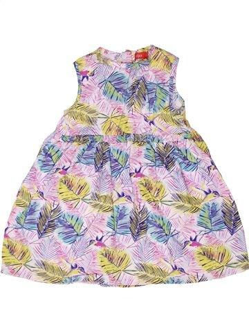 Robe fille TISSAIA rose 2 ans été #1268278_1