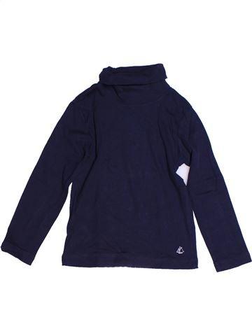 Camiseta de cuello alto niño PETIT BATEAU azul 4 años invierno #1268287_1