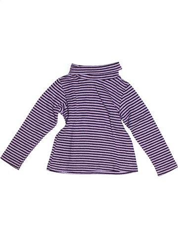 T-shirt col roulé fille LISA ROSE violet 3 ans hiver #1268358_1