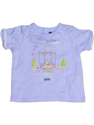 T-shirt manches courtes garçon SERGENT MAJOR bleu 12 mois été #1268625_1