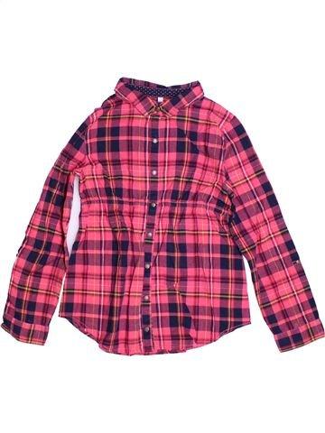 Blusa de manga larga niña GEMO violeta 10 años invierno #1268722_1