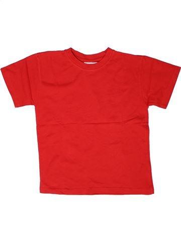 T-shirt manches courtes garçon ORCHESTRA rouge 9 ans été #1268747_1