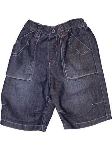 Short - Bermuda garçon OKAIDI bleu 12 mois été #1268792_1