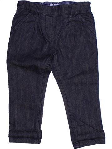 Pantalón niña BOUT'CHOU negro 2 años verano #1268969_1