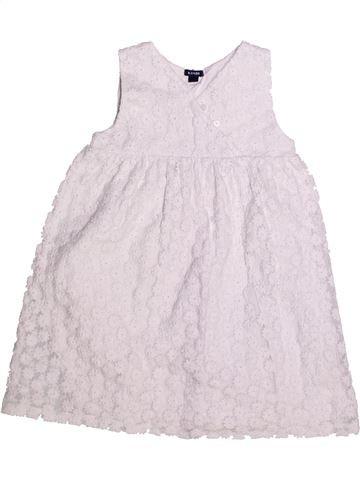 Robe fille KIABI blanc 4 ans été #1269215_1