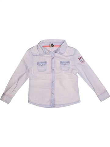 Blusa de manga larga niña TAPE À L'OEIL blanco 3 años invierno #1269270_1