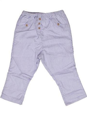 Pantalon garçon CYRILLUS blanc 2 ans été #1269311_1