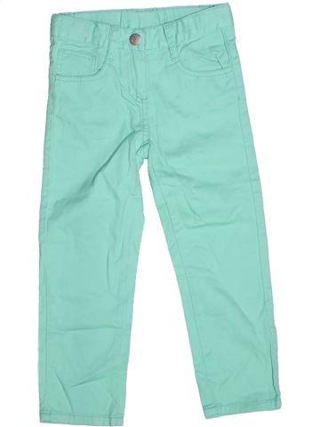 Pantalon fille LUPILU vert 4 ans hiver #1269332_1