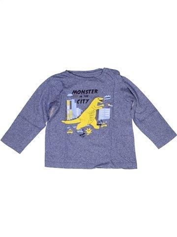 Camiseta de manga larga niño BOUT'CHOU violeta 3 años invierno #1269420_1
