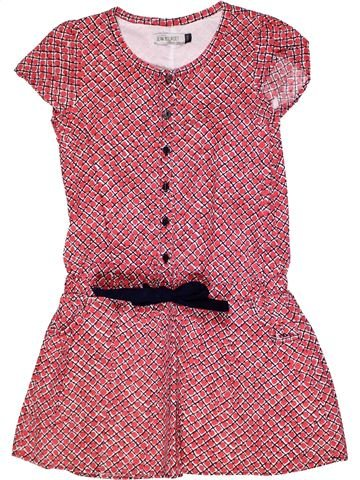 Vestido niña JEAN BOURGET rosa 8 años verano #1269761_1
