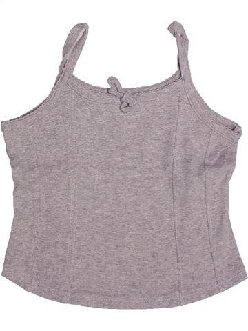 Camiseta sin mangas niña CYRILLUS violeta 4 años verano #1269810_1
