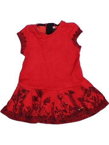 Vestido niña CATIMINI rojo 2 años invierno #1269834_1