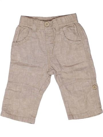 Pantalon garçon MATALAN beige 6 mois été #1270049_1