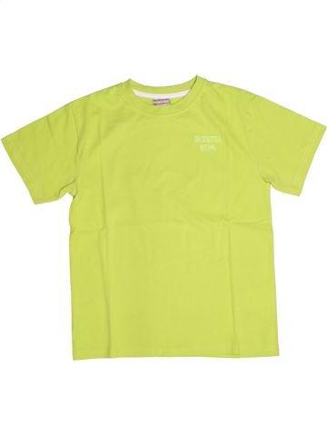 T-shirt manches courtes garçon ORCHESTRA jaune 12 ans été #1270309_1