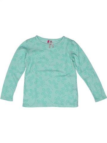 T-shirt manches longues fille ORCHESTRA bleu 5 ans hiver #1270481_1