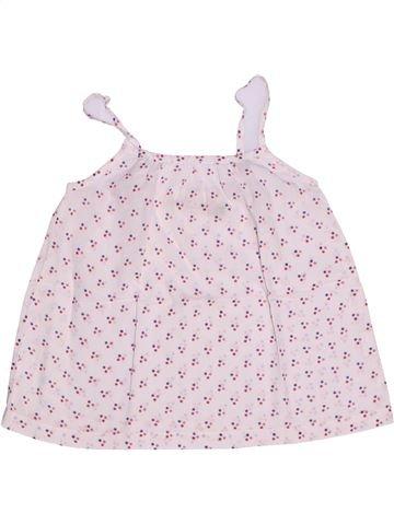 Blusa de manga corta niña CFK blanco 4 años verano #1270613_1
