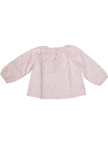 Blusa de manga larga niña BOUT'CHOU blanco 3 años invierno #1270614_1