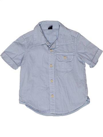 Chemise manches courtes garçon GAP gris 3 ans été #1270727_1