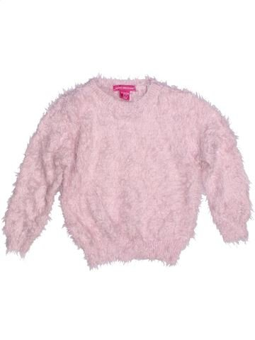 Pull fille YOUNG DIMENSION rose 2 ans hiver #1270812_1