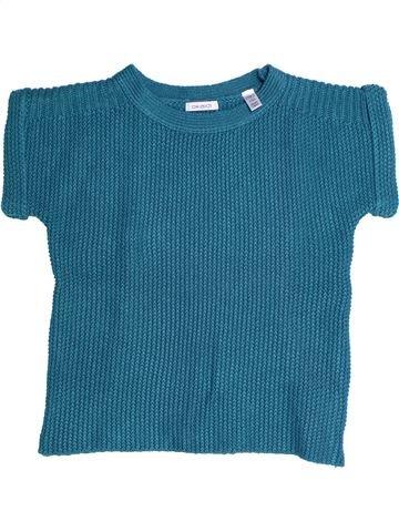 jersey niña OKAIDI azul 10 años invierno #1270901_1