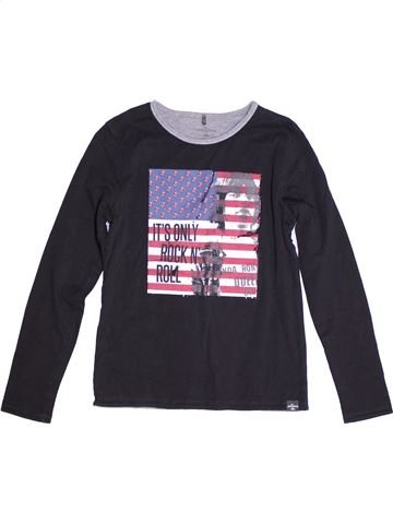 Camiseta de manga larga niño IKKS negro 14 años invierno #1270937_1