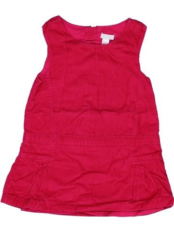 Robe fille OKAIDI rouge 2 ans hiver #1271248_1