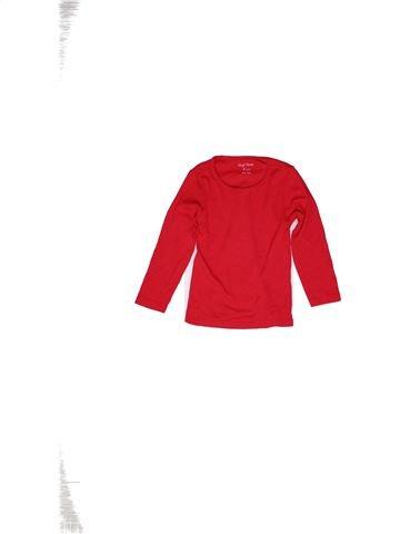 T-shirt manches longues fille VYNIL FRAISE blanc 6 ans hiver #1271254_1