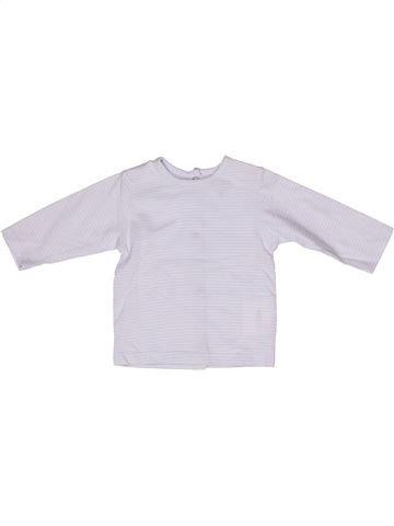T-shirt manches longues garçon KIMBALOO gris 3 mois hiver #1271269_1