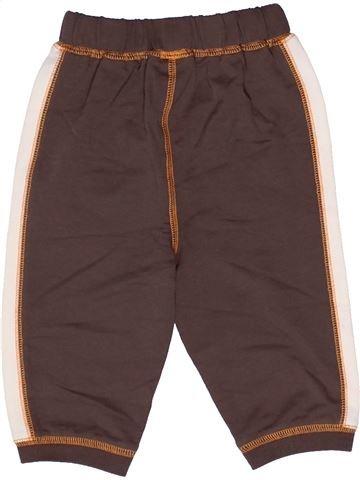 Pantalon garçon GEORGE marron 6 mois hiver #1271799_1