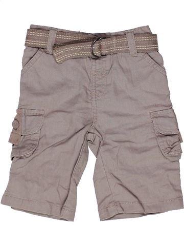 Pantalon garçon MATALAN gris 6 mois été #1271902_1
