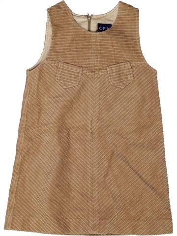 Vestido niña CFK marrón 4 años invierno #1272030_1