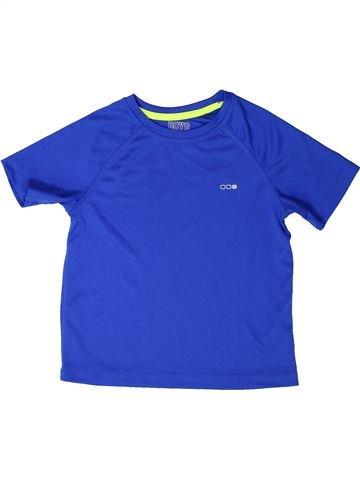 T-shirt manches courtes garçon BOYS bleu 5 ans été #1272457_1