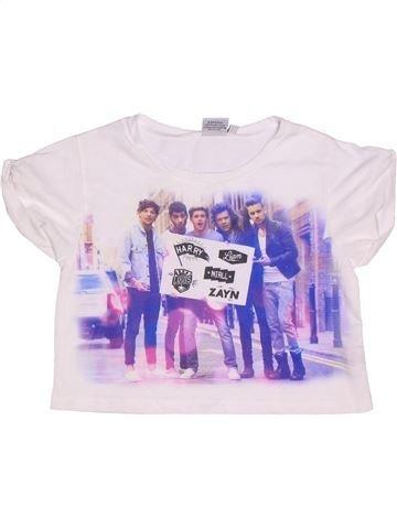 T-shirt manches courtes fille ONE DIRECTION rose 12 ans été #1272564_1