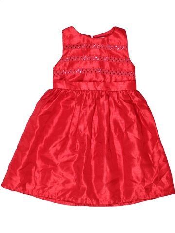 Vestido niña GYMBOREE rojo 4 años invierno #1272579_1