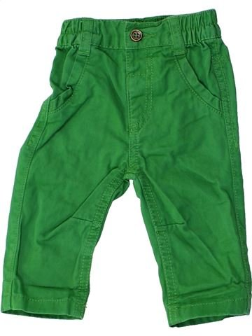 Pantalon garçon GEORGE vert 3 mois été #1272588_1
