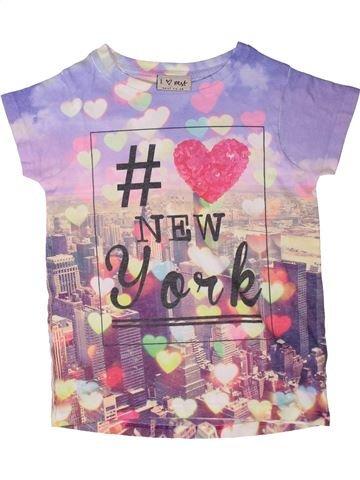 T-shirt manches courtes fille NEXT gris 4 ans été #1272956_1