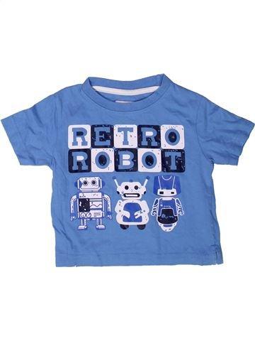 T-shirt manches courtes garçon PRIMARK bleu 18 mois été #1272964_1