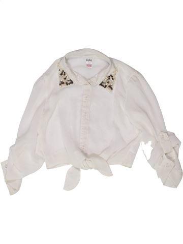 Blusa de manga larga niña KYLIE blanco 12 años invierno #1273029_1