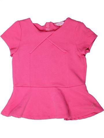 T-shirt manches courtes fille TED BAKER rose 10 ans été #1273032_1