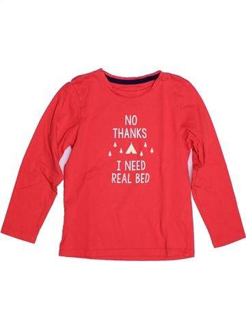 T-shirt manches longues garçon KID'S GRAFFITI rouge 6 ans hiver #1273077_1