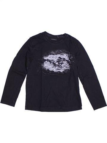 Camiseta de manga larga niño IKKS azul oscuro 6 años invierno #1273080_1