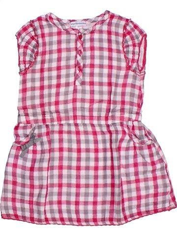 Vestido niña VERTBAUDET rosa 2 años verano #1273171_1