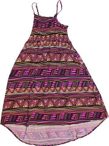 Vestido niña C&A violeta 11 años verano #1273326_1