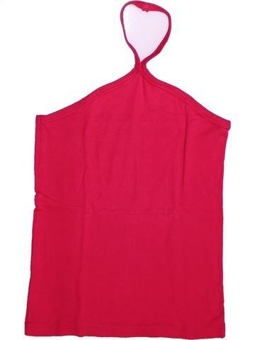 Camiseta sin mangas niña PETIT BATEAU rojo 14 años verano #1273330_1