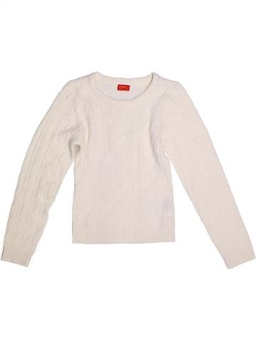Pull fille CFL blanc 9 ans hiver #1273438_1