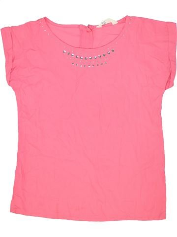 Blusa de manga corta niña H&M rosa 14 años verano #1273929_1
