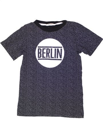 Camiseta de manga corta niño H&M azul 12 años verano #1274306_1