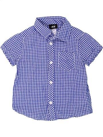 Camisa de manga corta niño H&M azul 3 años verano #1274512_1